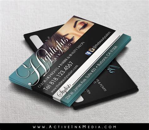gold  black barber business card template active ink