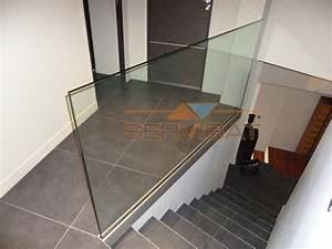 Garde Corps Escalier Interieur : garde corps en verre pour ext rieur ou int rieur nice ~ Dailycaller-alerts.com Idées de Décoration