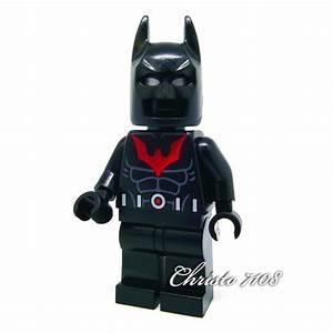 Custom Lego Batman Beyond - Custom Brick And Minifig