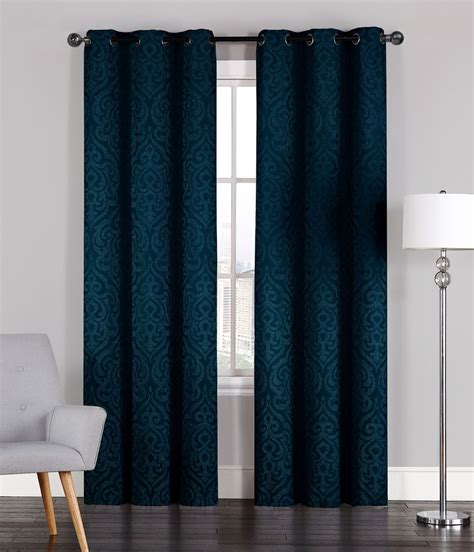 navy window curtains pair of adelaide crinkled window curtain panels w grommets 96 quot