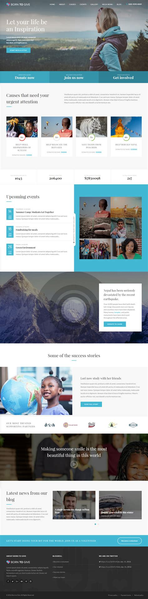 Continuous Scrolling Website Template 40 best responsive parallax scrolling website template