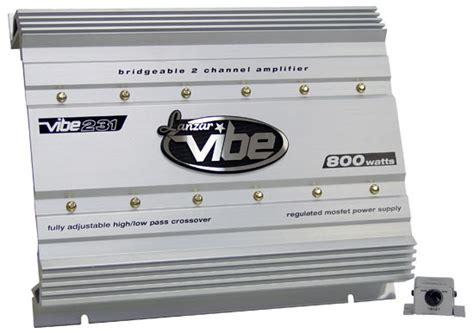 Lanzar Vibe Watt Channel Mosfet Amplifier