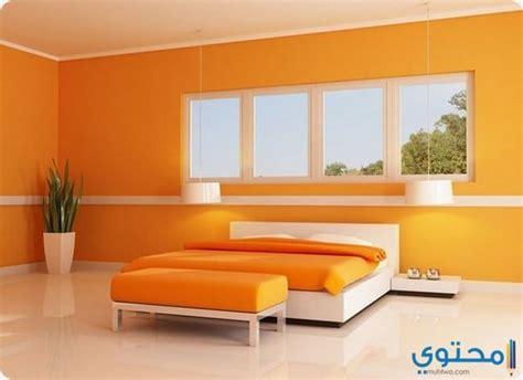 light orange bedroom walls ديكور حوائط غرف نوم متنوعة وحصرية موقع محتوى 15853 | غرف النوم07