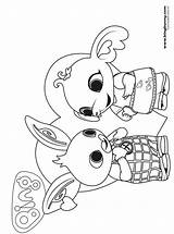 Bing Coloring Bunny Fun Kleurplaat sketch template