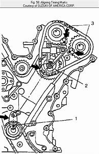 What Are The Belt Timing  Engine  For The 2001 Suzuki Xl 7