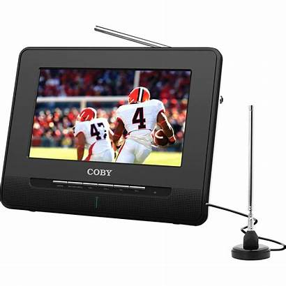 Portable Coby Digital Tv Lcd Dvd Player