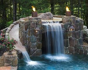 A Look At Some Grottos From Houzz.com | Homes of the Rich