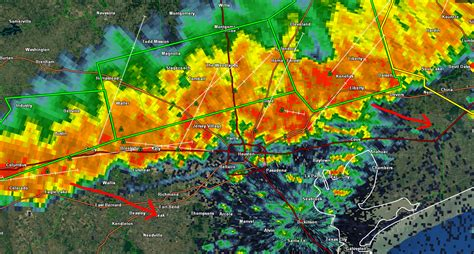 Another Round Of Severe Flooding North Of Houston
