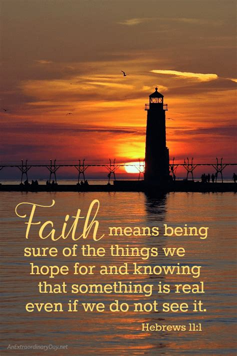 Let us draw near with a sincere heart in full assurance of faith, having our hearts sprinkled clean from an evil conscience and freedom boldness excellence encouraging faith in christ. Walking in Faith   JoyDay!   An Extraordinary Day
