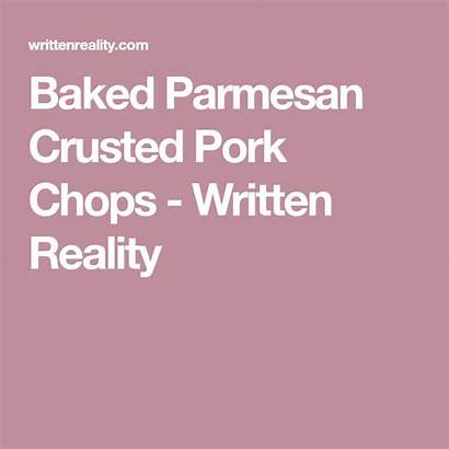 Pork Chops Parmesan Crusted Baked Recipe Writtenreality