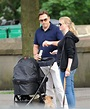 David Walliams family stroll - Zimbio