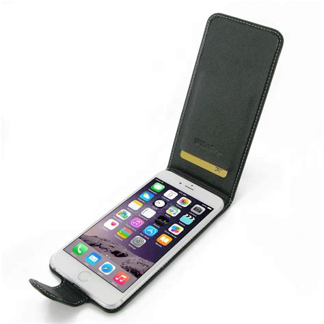 flip image iphone iphone 6 6s plus leather flip carry pdair sleeve