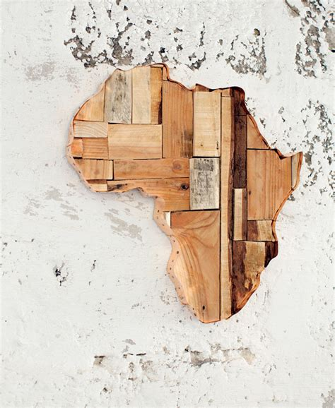 This file can be printed on size papers DIY Idea: African Wall Art - Visi