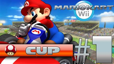 Lets Play Mario Kart Wii Episode 1 Mushroom Cup 50cc
