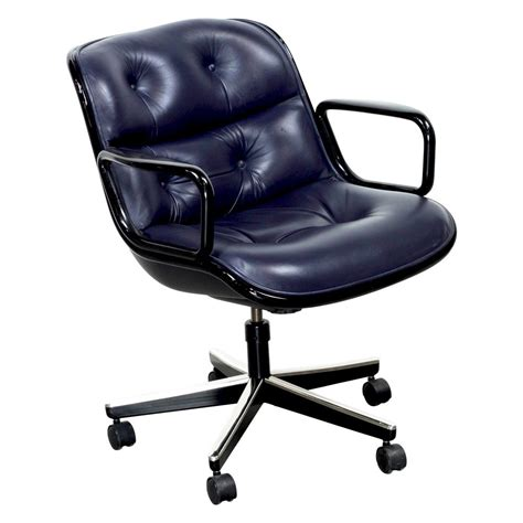 knoll pollock chair adjustment knoll pollock executive leather used swivel chair blue