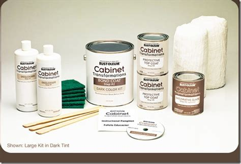 Rustoleum Cabinet Refinishing Kit by S Rust Oleum Cabinet Transformation The Domestic