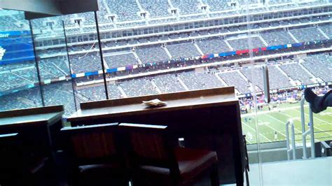 Tour of New Meadowlands Giants/Jets Stadium Suite 5 Star ...