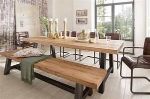 Table Salle A Manger Avec Banc Table Et Chaise Cuisine