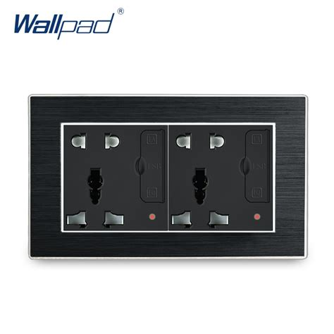 universal socket with usb wallpad wall light switch