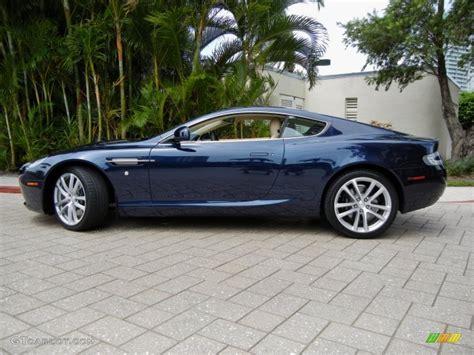 Midnight Blue 2011 Aston Martin Db9 Coupe Exterior Photo