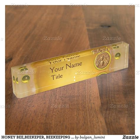 desk name plate designs 17 best images about honey bee beekeeper beekeeping