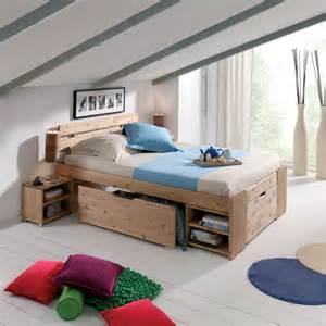 Lit Mezzanine 2 Places Avec Escalier Tiroir by Lits 2 Places Gain De Place