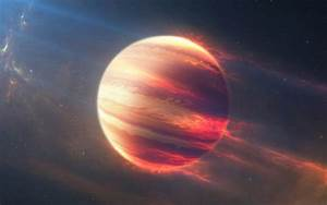 Space Fire Planet 4K Wallpapers | HD Wallpapers