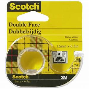 Scotch Double Face : scotch ruban double face avec d vidoir 12 mm x 6 3 m ~ Melissatoandfro.com Idées de Décoration