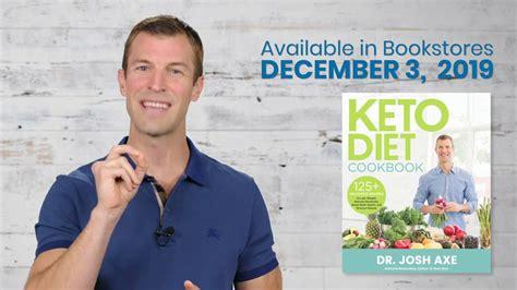 keto diet cookbook  dr josh axe youtube