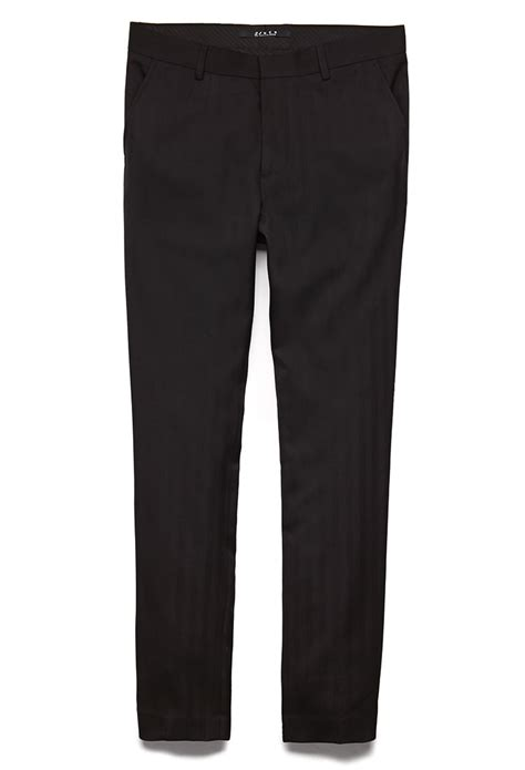 Mens black suit pants - Pi Pants