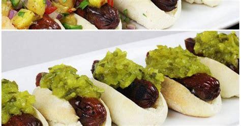 trio  hot dog bites asian spanish  american
