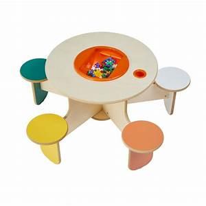Table Enfant Avec Rangement : table dejeux avec rangement pento colors ~ Melissatoandfro.com Idées de Décoration