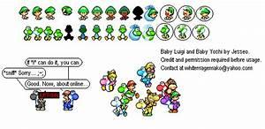 Custom / Edited - Yoshi Customs - Baby Luigi and Baby ...
