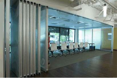 Glass Modernfold Clear Acousti Tech Interior Spokane
