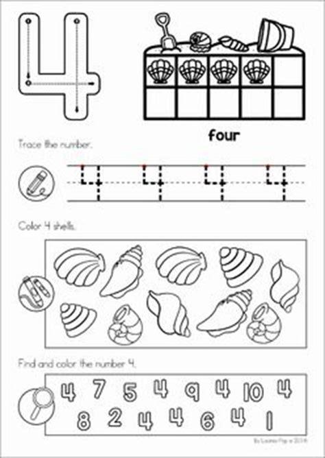 summer review preschool  prep worksheets activities