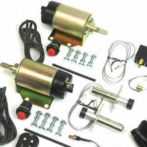 Autoloc 80 Lb Remote Shaved 2 Door Handle Popper Kit Trunk Kit Included Remotes