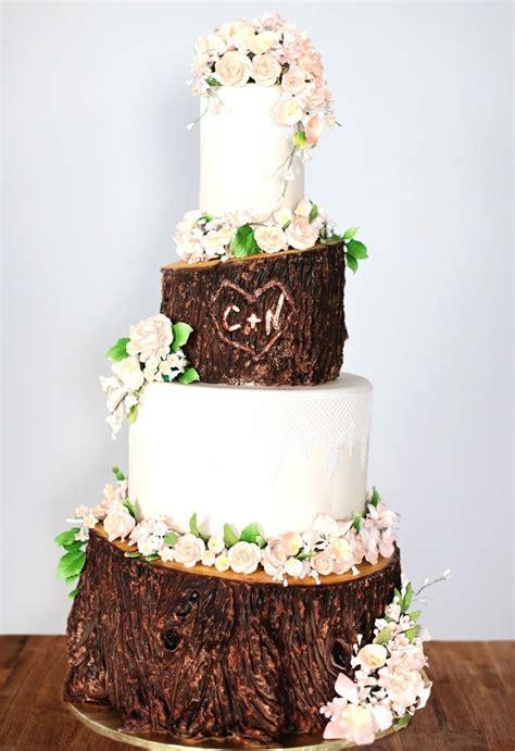 1000 Ideas About Birch Wedding Cakes On Pinterest