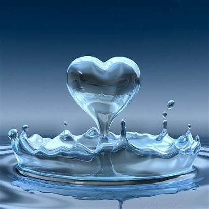 Animated Water Heart Hearts Fanpop Animation Colorful