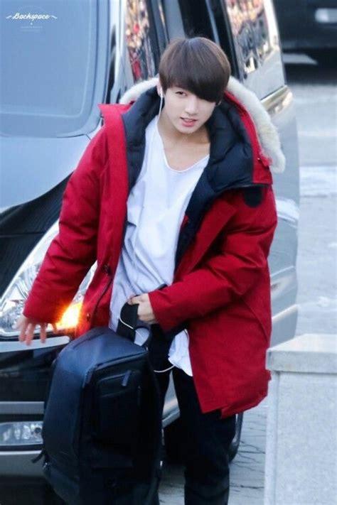 backpack mustache jacket winter coat jungkook fluffy oversized