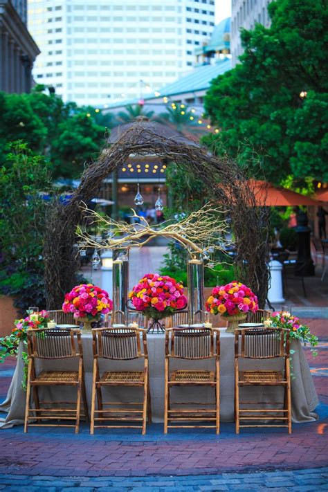 colorful new orleans garden wedding inspiration every