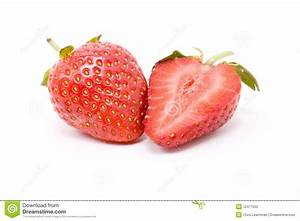 Strawberry Slice Stock Photography - Image: 12471552