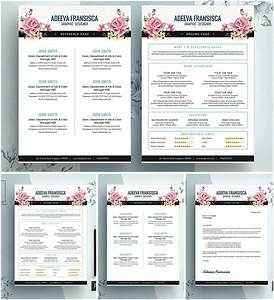 vintage feminine resume template free download With feminine resume template