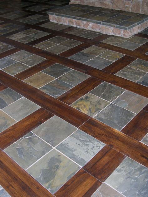 slate and wood floor slate flooring pictures and ideas