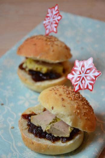recette mini burgers foie gras  confit doignon