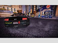Need For Speed Most Wanted Ford Cyberpunk 2077 Vinyl NFSCars