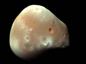 APOD: 2009 March 16 - Martian Moon Deimos from MRO