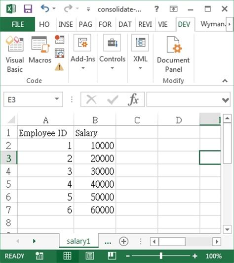 consolidate excel sheets into one vba how to