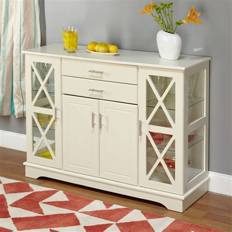 White Sideboard Furniture by Antique White Kendall Buffet Dining Room Furniture Storage