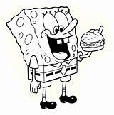 Spongebob Coloring Pages Printable Sponge Bob Sheets Print Colouring Characters Fun Cartoon Squarepants Drawings Number Friends Email sketch template