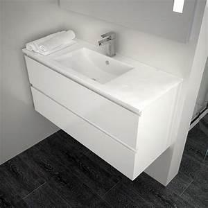 Meuble salle de bain 100 x 40 for Meuble salle de bain 100